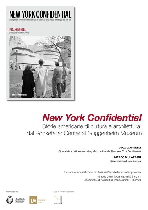 16 aprile 2015 - new york confidential